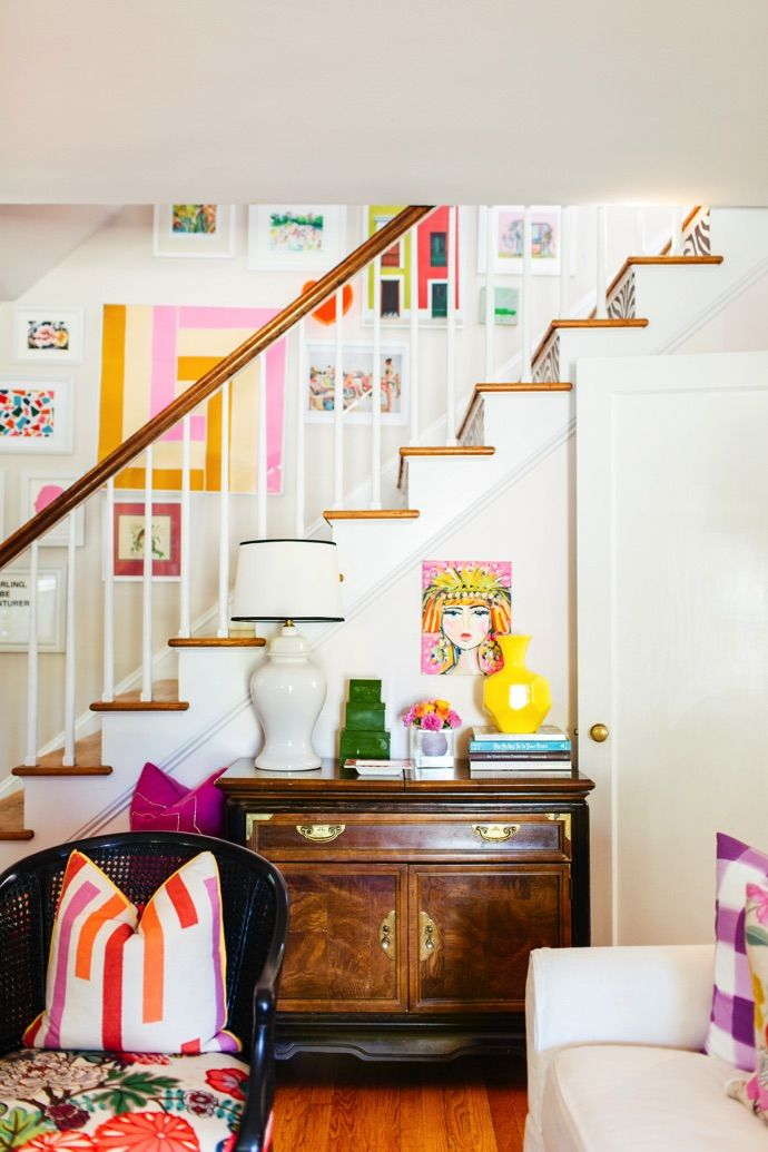 Colour Inspiration For A Happy Home Bright And Colourful