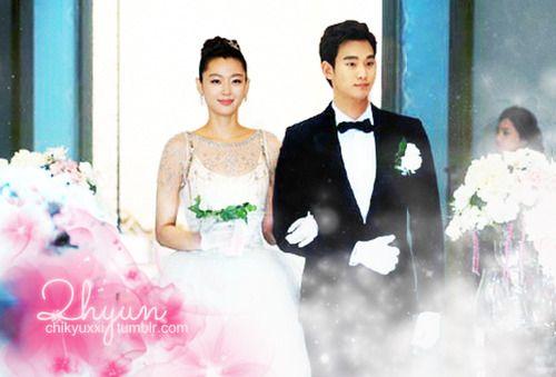 Kim Soo Hyun And Jeon Ji Hyun Cute Fan Arts