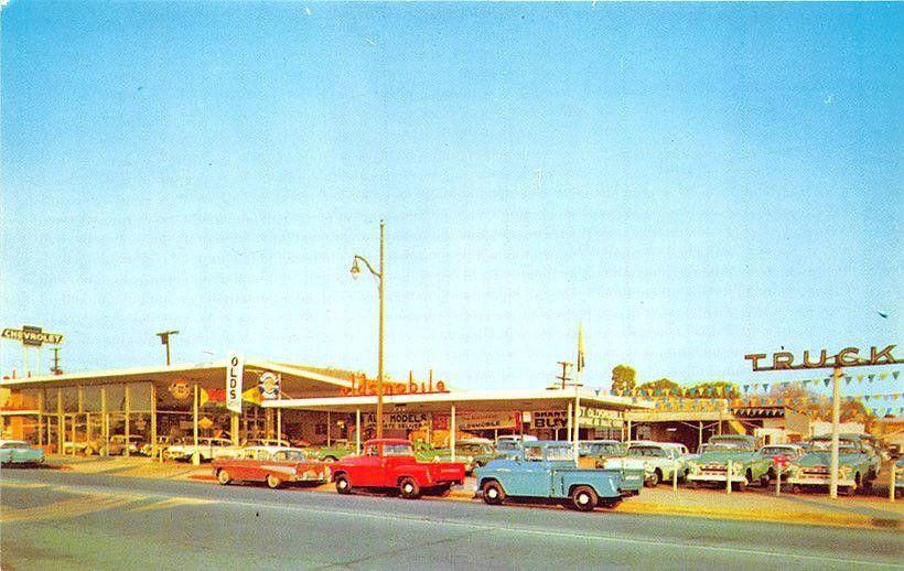 R.V. Dorweiler Inc., Chevrolet Oldsmobile Dealership, El