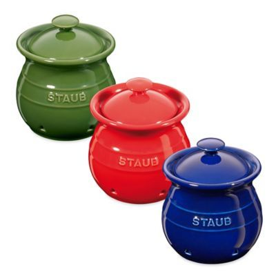 Staub Ceramic Garlic Keeper - BedBathandBeyond.com