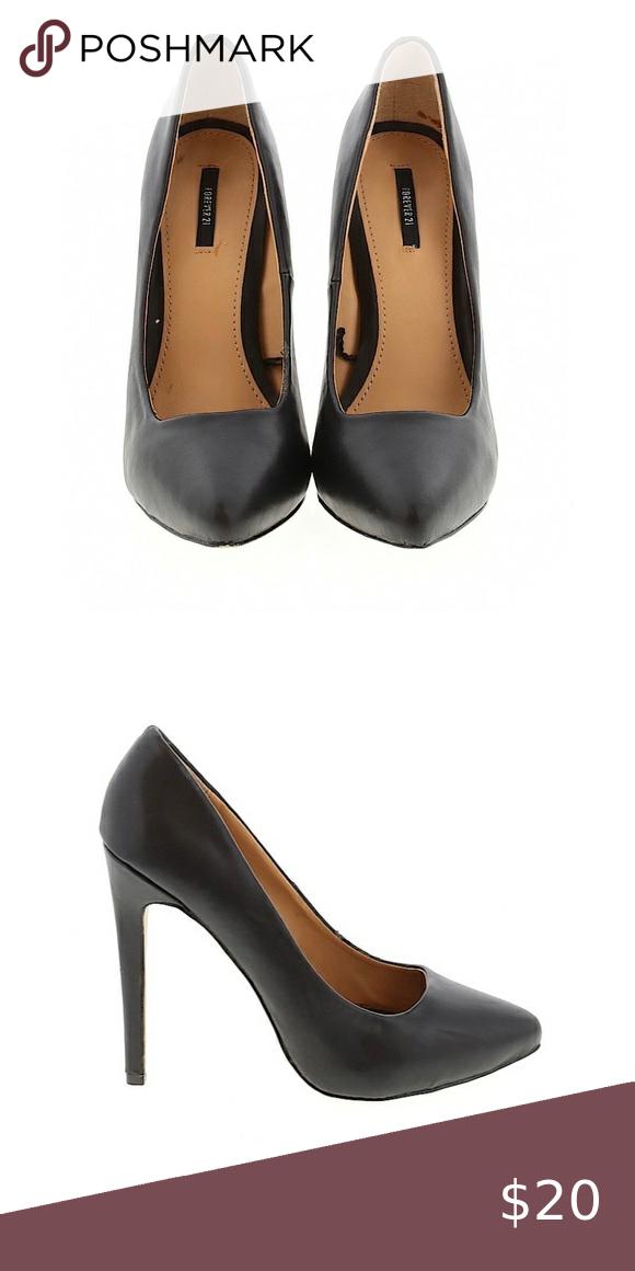 Forever 21 Black Pumps Heels Size 10
