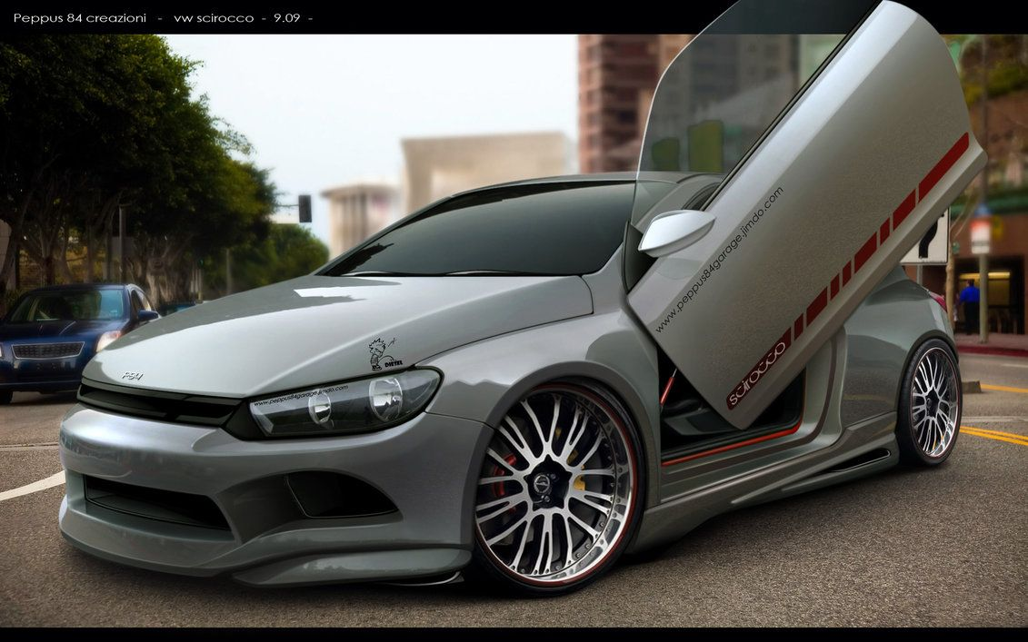 virtual tuning vw scirocco by peppus84 on deviantart. Black Bedroom Furniture Sets. Home Design Ideas
