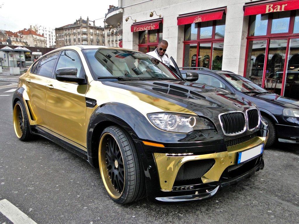 Gold Bmw X6 M Hamann Tycoon Evo M Fashion Automobiles