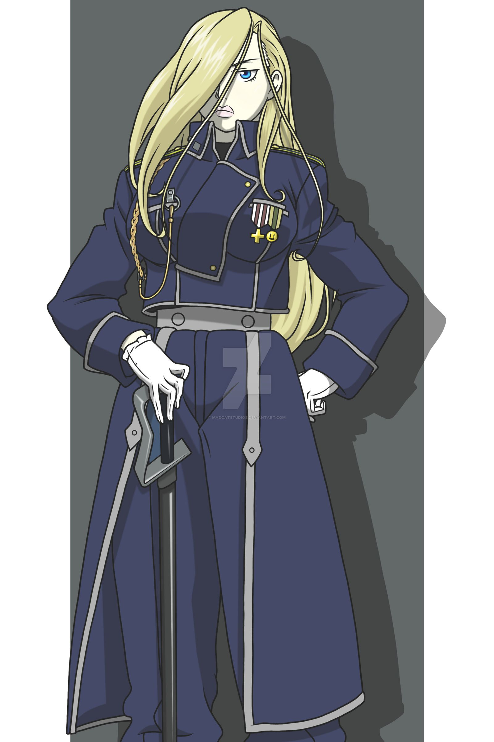 Olivier Mira Armstrong Fanart Fullmetal Alchemist Fullmetal Alchemist Edward Fullmetal Alchemist Brotherhood Looking for the best olivier armstrong wallpaper? olivier mira armstrong fanart
