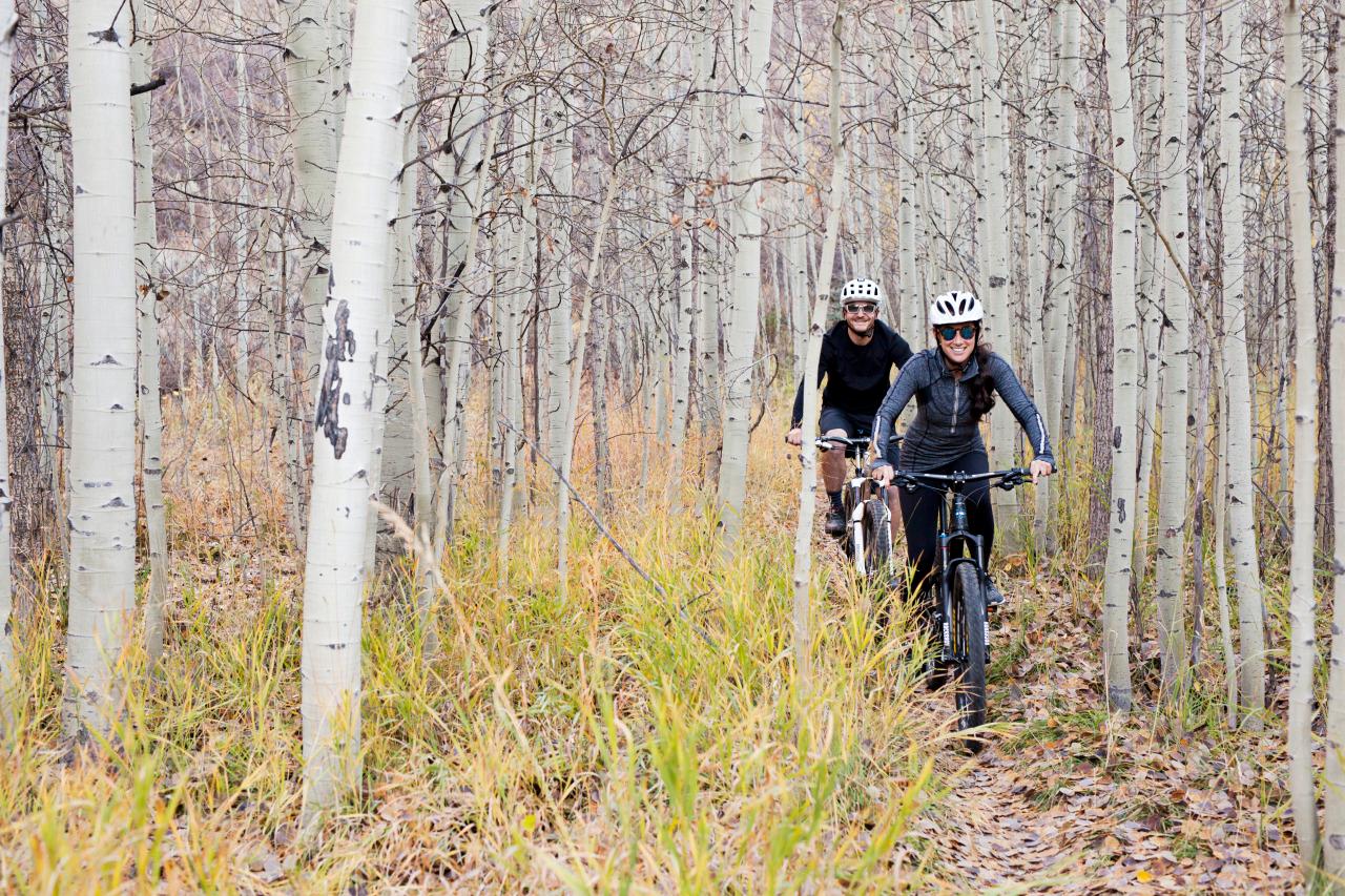 Ride Along With Ride Aspen Riding Ride Along Bike Ride
