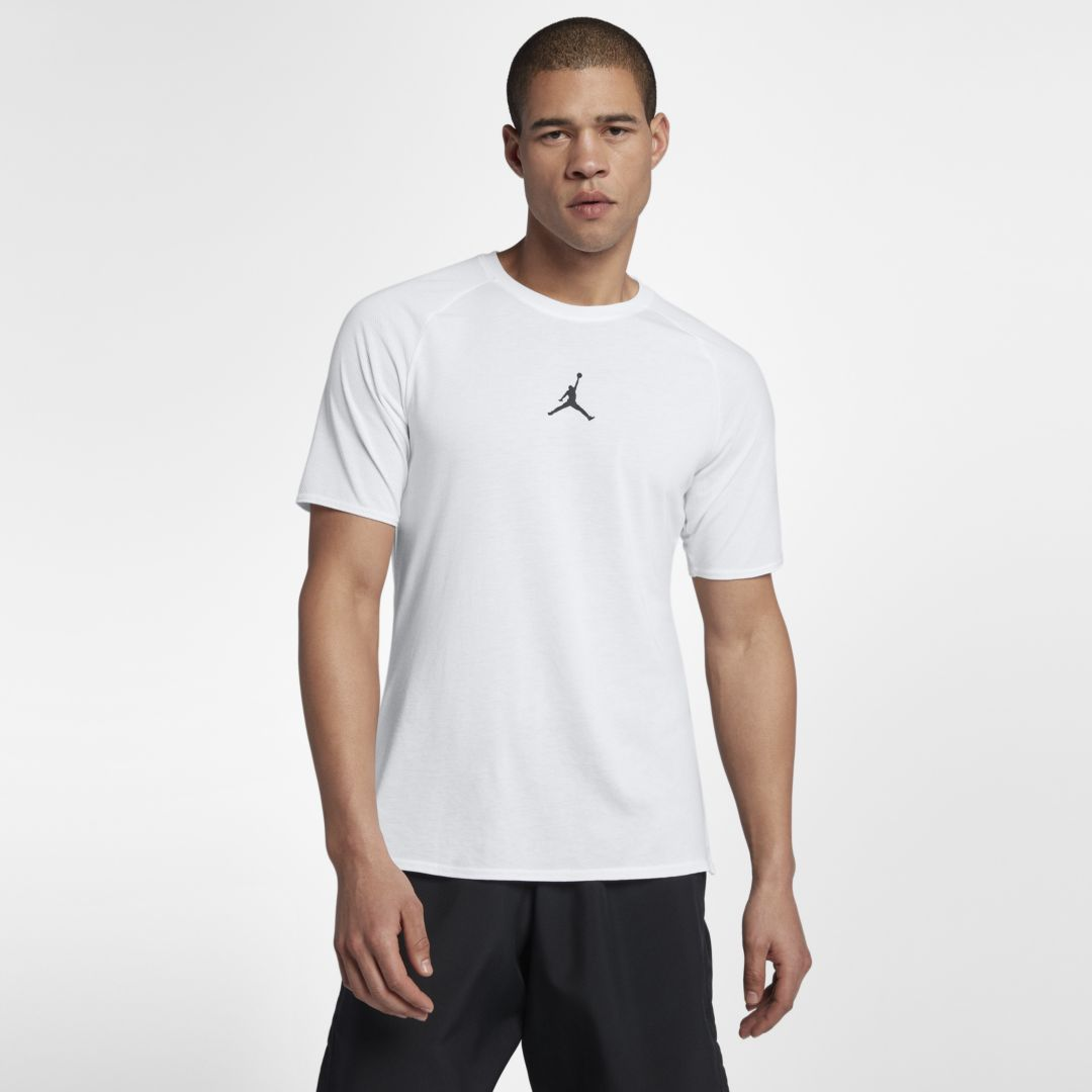 9b50060791f6 Jordan Dri-FIT 23 Alpha Men s Short Sleeve Training Top Size 4XL (White)