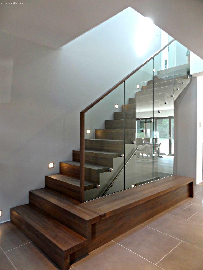Modernes treppenhaus einfamilienhaus  Dream Staircase Photo by www.smg-treppen.de #smgtreppen | ▻ smg ...