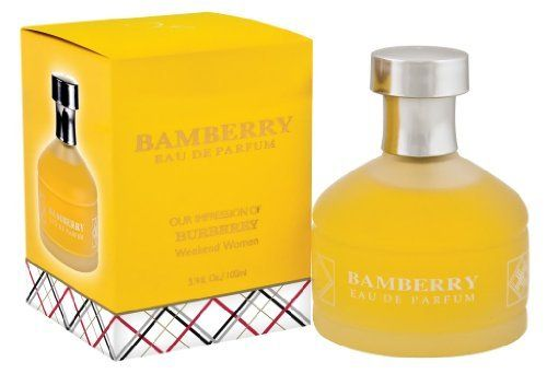 Bamberry Burberry Impression Perfume 3 Dollar Weekend Cologne Fragrance Skin Care