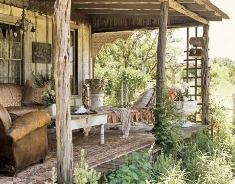 Estilo shabby chic shabby and porch - Decoracion estilo shabby chic ...