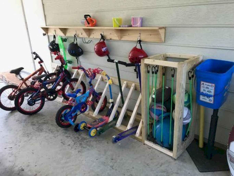 55 clever garage organization ideas bike rack garage on clever garage organization ideas id=20626