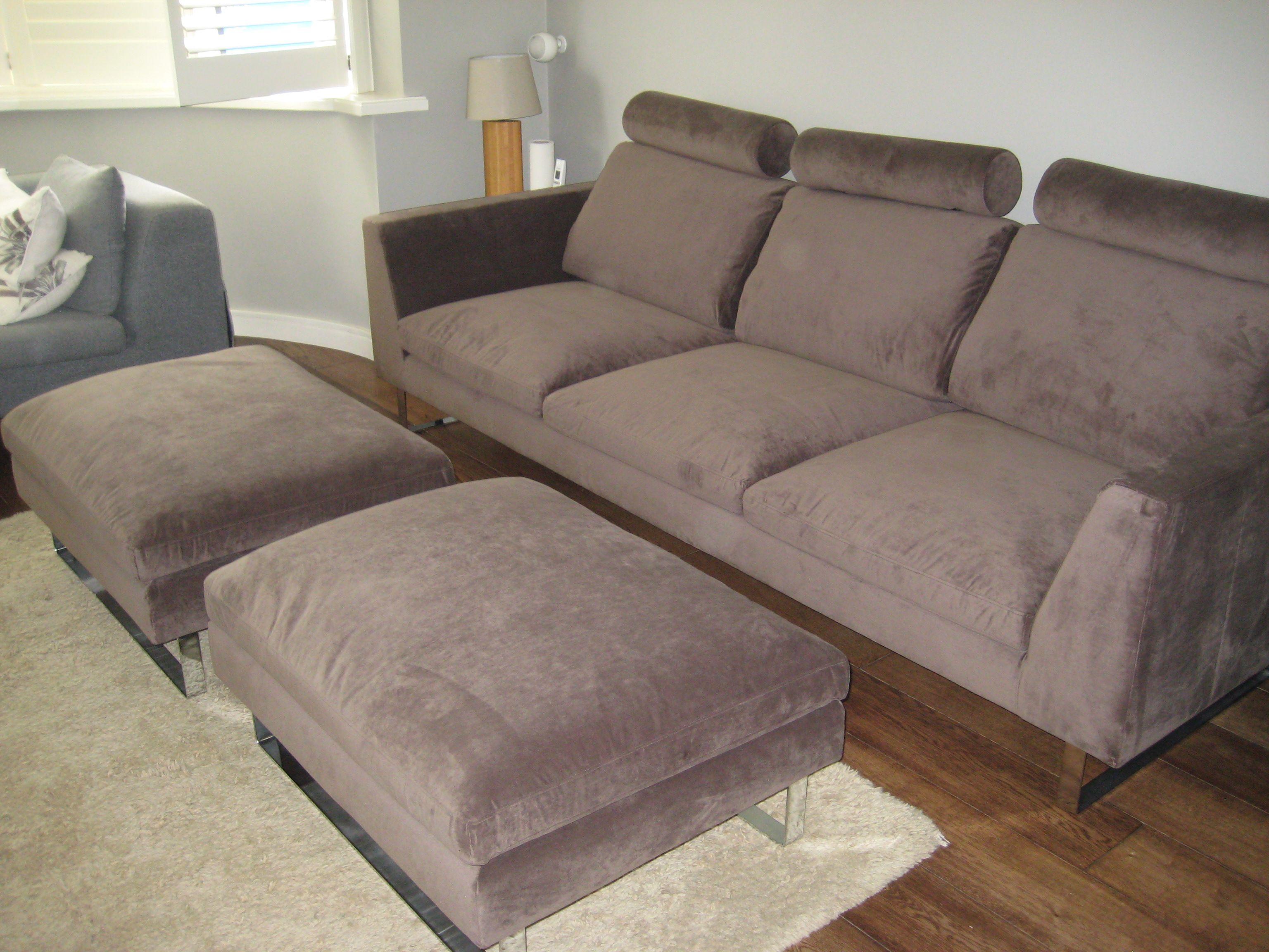 sofa 250cm cheap corner garden furniture 3 seat 250 cm wide x 102 deep with 2 footstools each 70