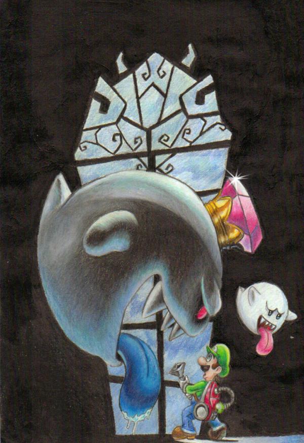 Luigi S Mansion 2 By Tauregil Deviantart Com On Deviantart
