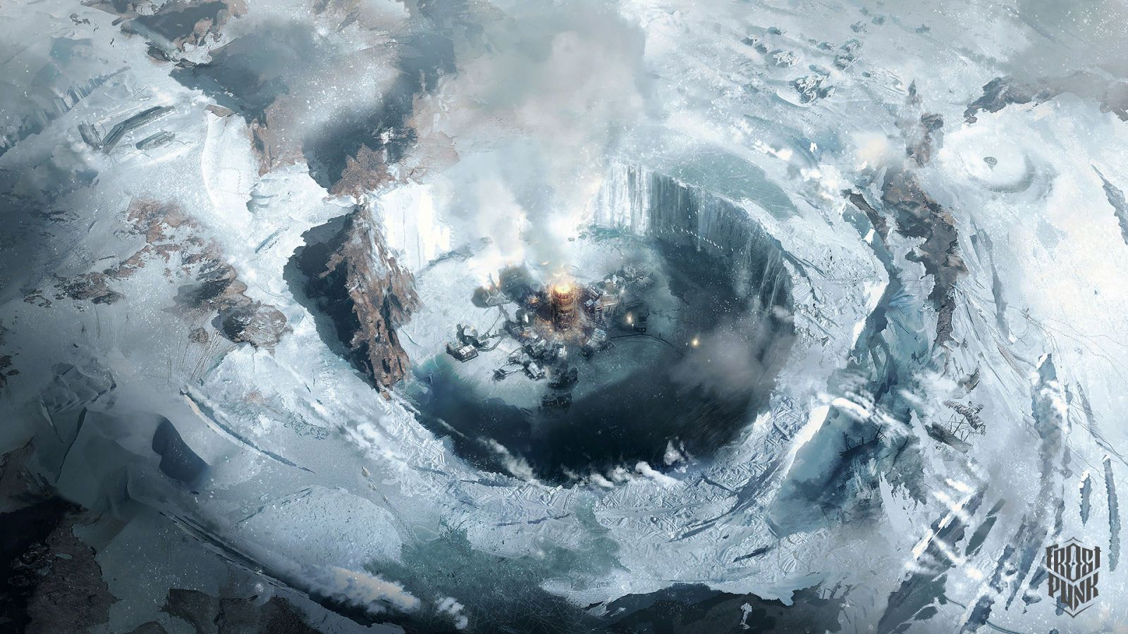 The Art Of Frostpunk Hd Wallpaper Art Artwork