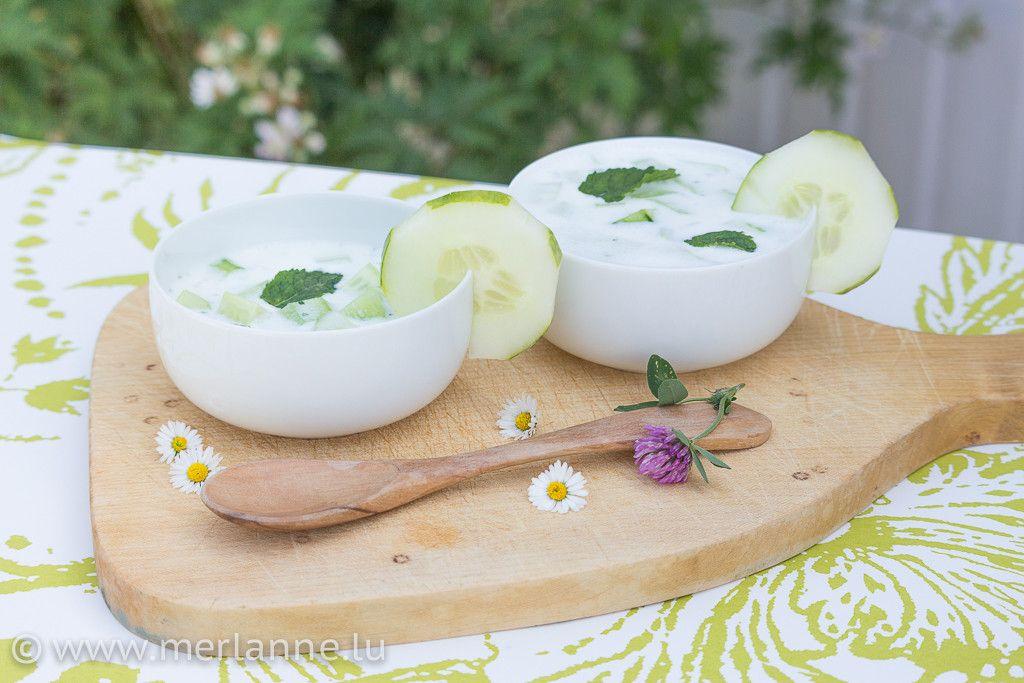 Sommerküche Ohne Kochen : Sommerküche kalte gurken joghurt suppe kochen suppen und