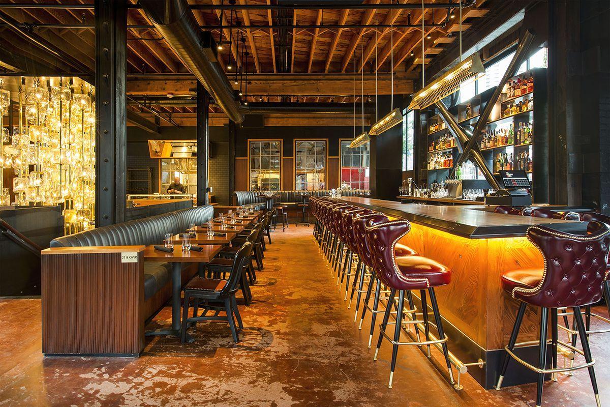 Seattles Swankiest New Steakhouse Opens Its Bar Tonight