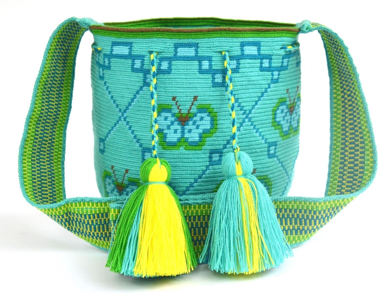 Exceptional single thread wayuu mochila medium size ...