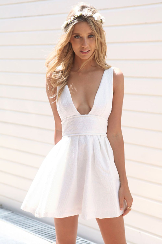 Palermo Plunge Dress | dream closet | Pinterest | Plunge dress ...