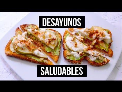 Tostadas con huevo y queso desayunos f ciles y r pidos youtube comida pinterest - Almuerzos faciles y rapidos ...