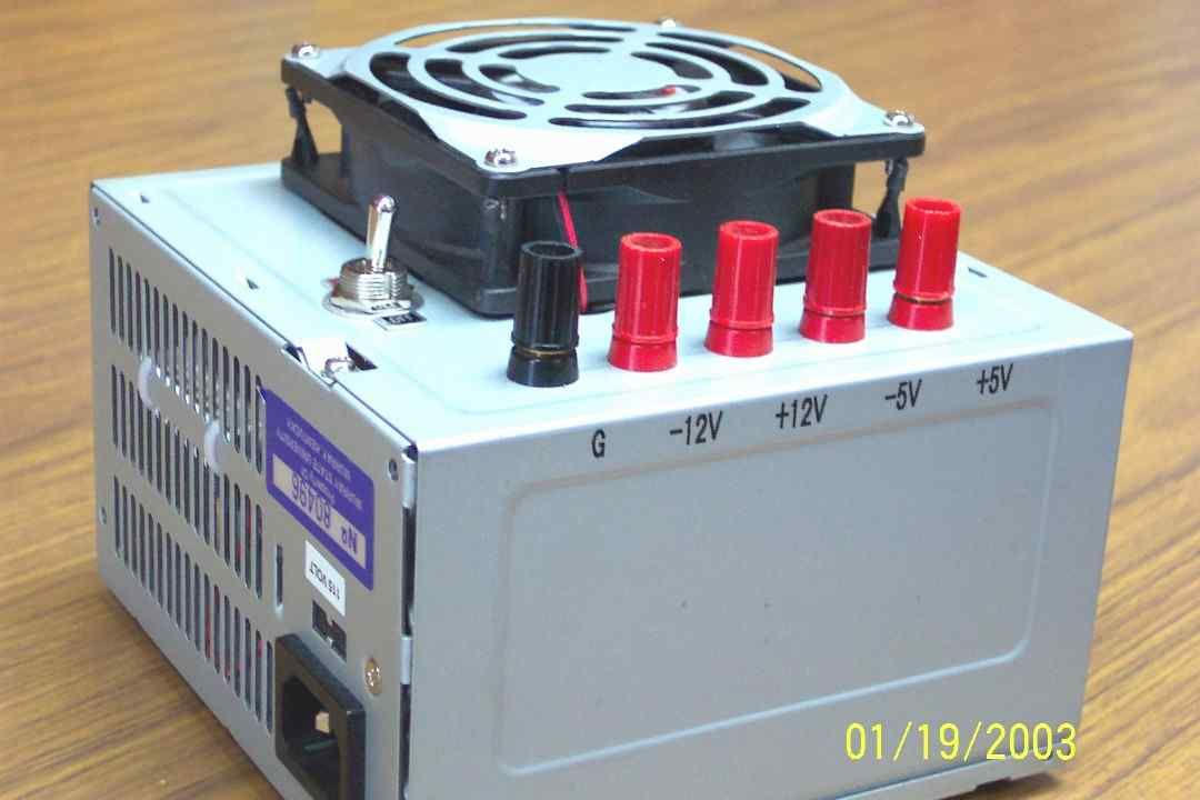 Converting a PC Power Supply | Craft: Raspberry Pi, Arduino & PC ...