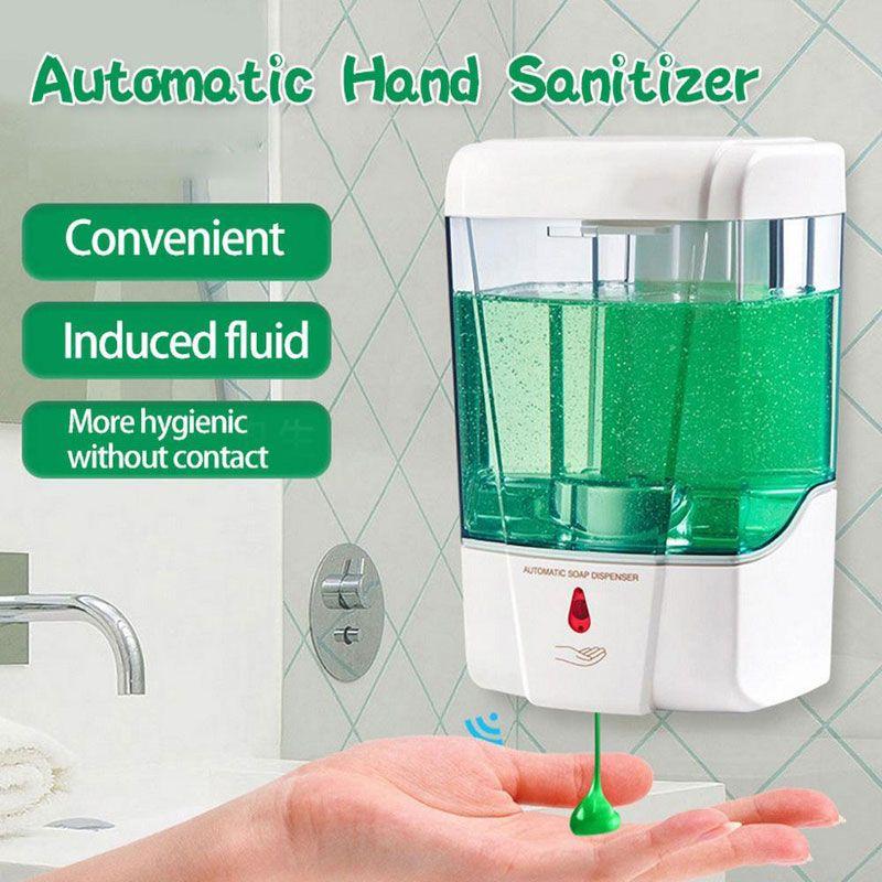 Touchless Hand Sanitizer Spray Device Automatic Sanitizer Dispenser Hand Sanitizer Touchless In 2020 Soap Dispenser Automatic Soap Dispenser Bathroom Soap Dispenser