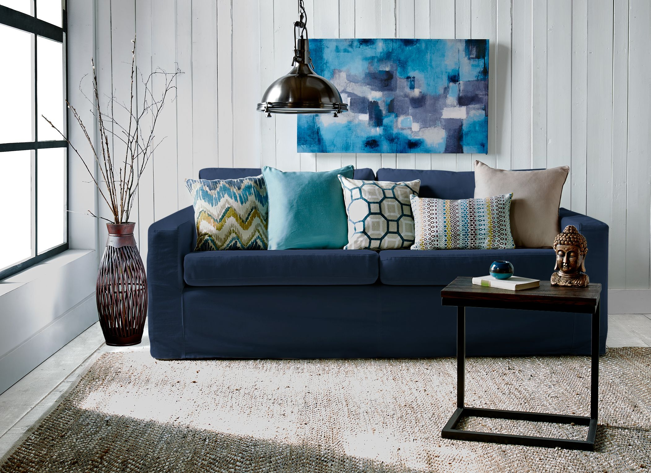 Boho Chic Living Room Decor | Décor de salle de séjour ...