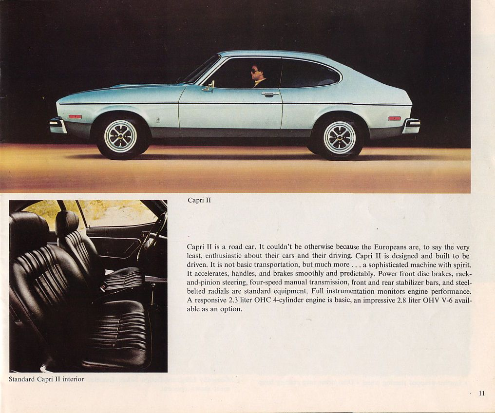 1976 mercury capri ii imported by mercury from germany wish i still had that car cars. Black Bedroom Furniture Sets. Home Design Ideas