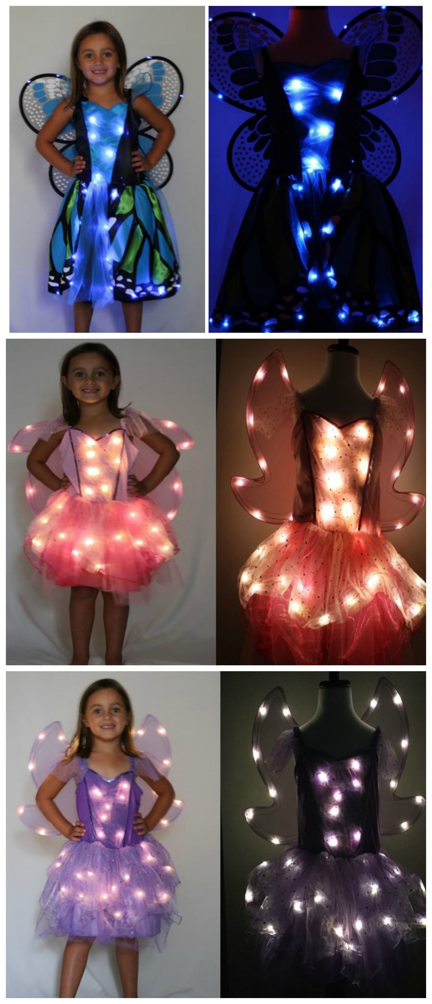 These Led Fairy Halloween Costumes For Kids Are Awesome So Easy