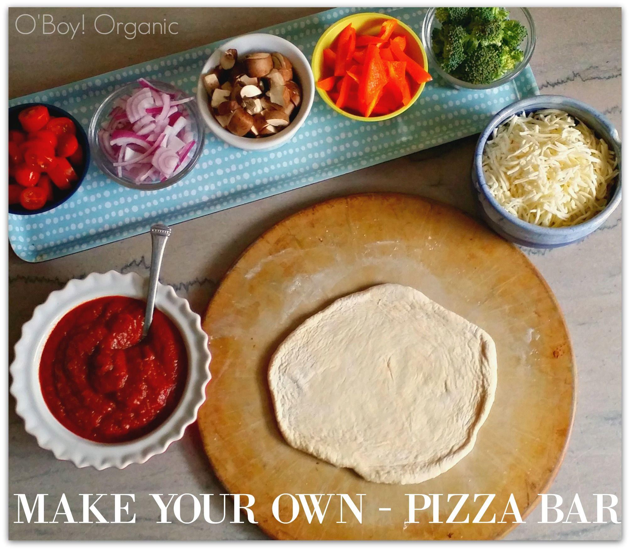 The Sleepover Solution: Build Your Own Pizza Bar   3hungrymonkeys