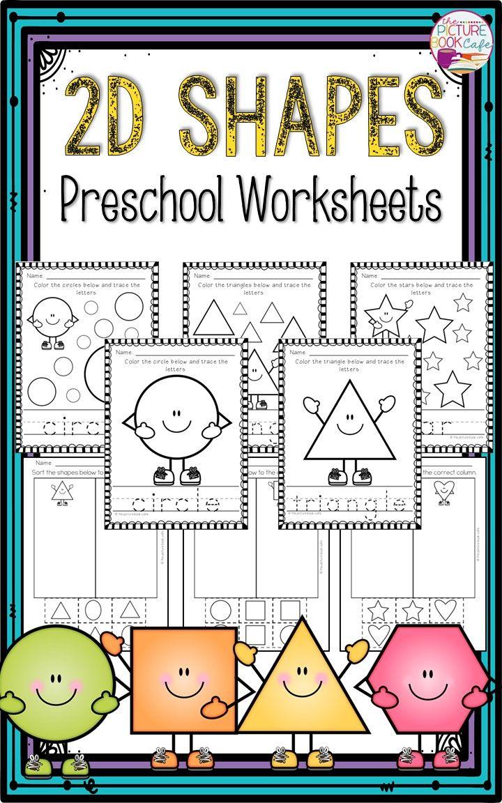 Shapes Worksheets for Preschool   Shape worksheets for ...
