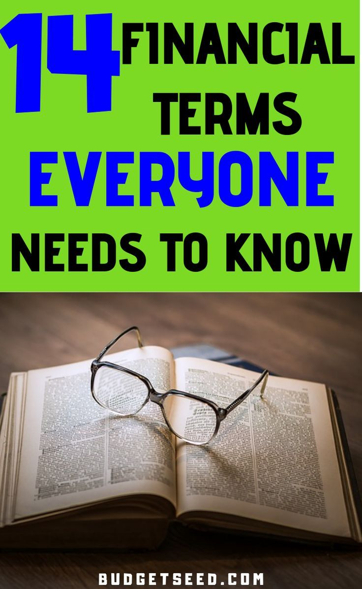 14 Money Terms To Boost Your Financial Knowledge Personal Finance Tips Hacks Rules To Live