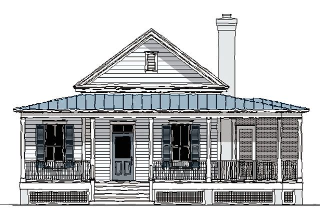 Banning Court House Plan SL1254 By Moser Design Group Via HousePlans. SouthernLiving.com