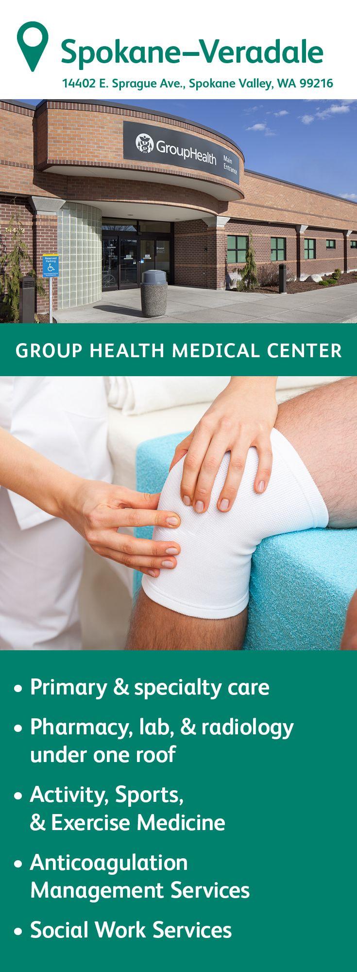 The Group Health Veradale Medical Center in Spokane