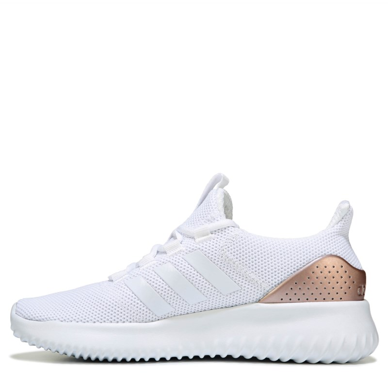Adidas Women's Cloudfoam Ultimate Sneakers (White/Metallic ...
