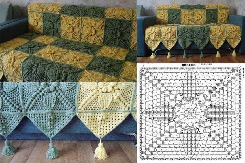 Cute Cover For Sofa Set Crochet Home Sofa Set Crochet Cushions