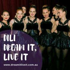 dance mount isa gymnastics dream it live it DiLi mount isa
