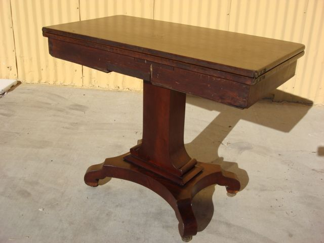 Great Antique Game Table   Google Search