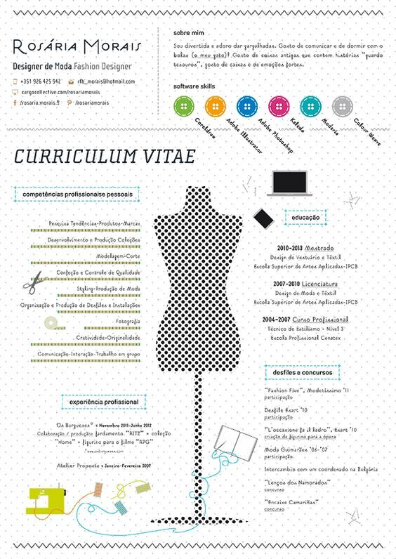 cv fashion - Cerca con Google u2026 Pinteresu2026 - garment merchandiser sample resume