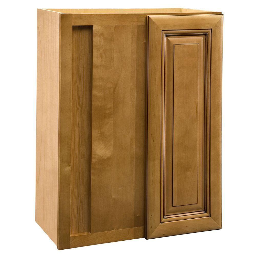Glass cabinet door hinges  Lewiston Assembled xx in Single Door Hinge Left Wall Kitchen