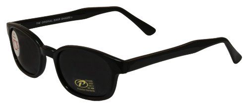 9674923d7498 Black Friday Pacific Coast Original KD s Biker Sunglasses (Black Frame Smoke  Lens) from. The Number 1Jax TellerPacific CoastPolarized SunglassesSons ...