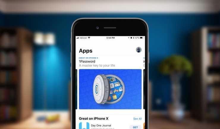 Одновременно с появлением iPhone X в магазинах в App Store ...