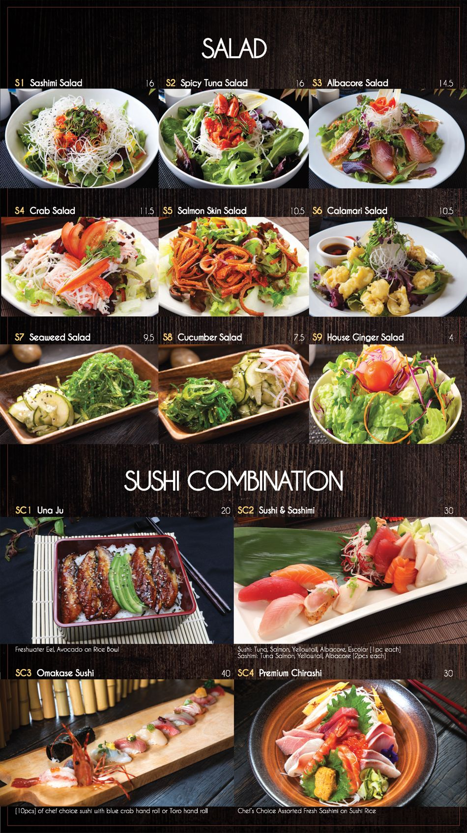 Menu Fusion Sushi Anese Restaurant Manhattan Beach And Long In California