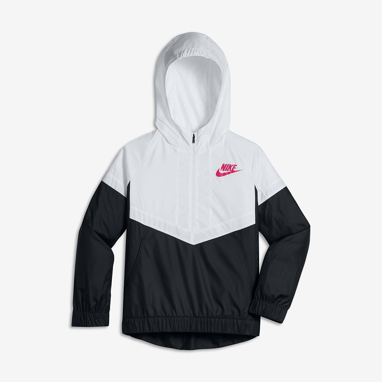 32953f2b5db1 Nike Sportswear Windrunner Big Kids  (Girls ) Jacket - Xs (7) Pink ...