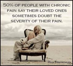 50% do not belive families loved one in pain