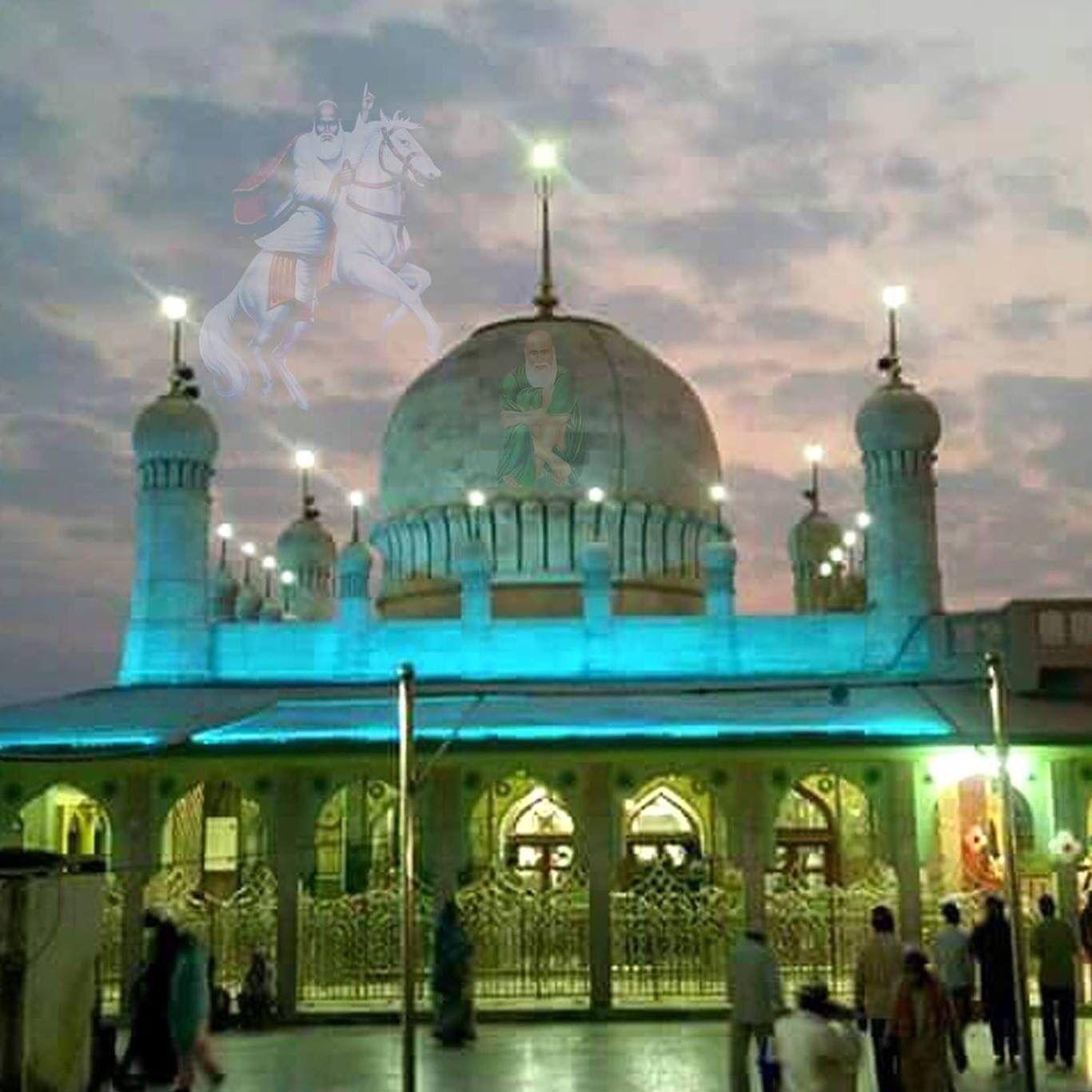 Tajuddin Baba's Mazaar  Nagpur   Sufi Shah Mastan