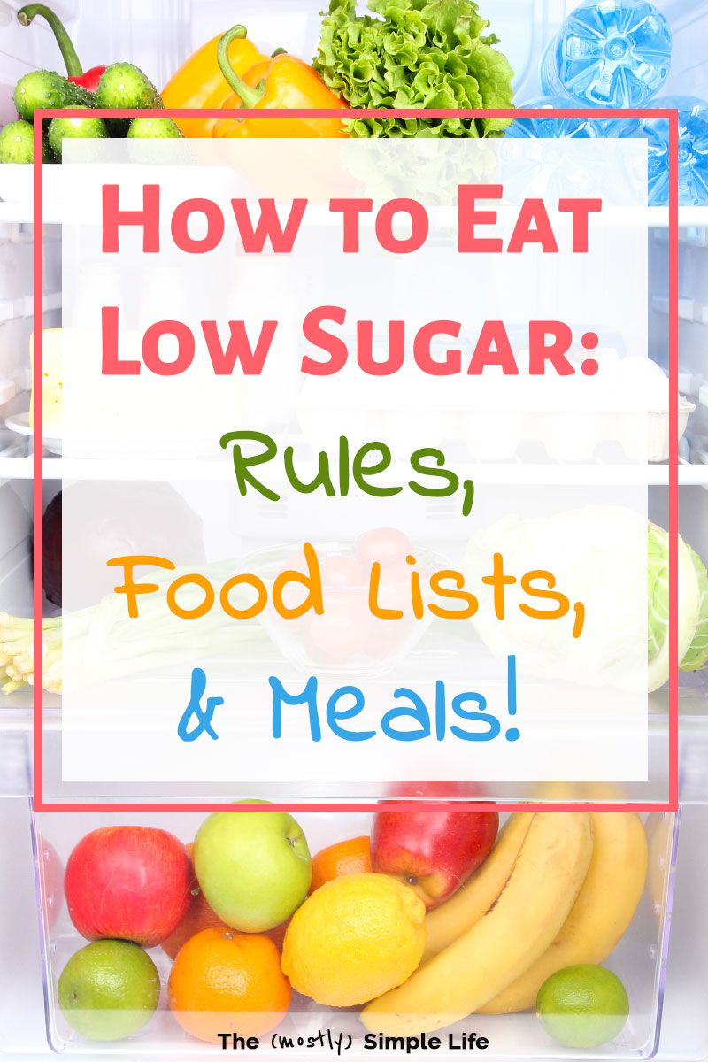 can i eat fruit on no sugar diet?