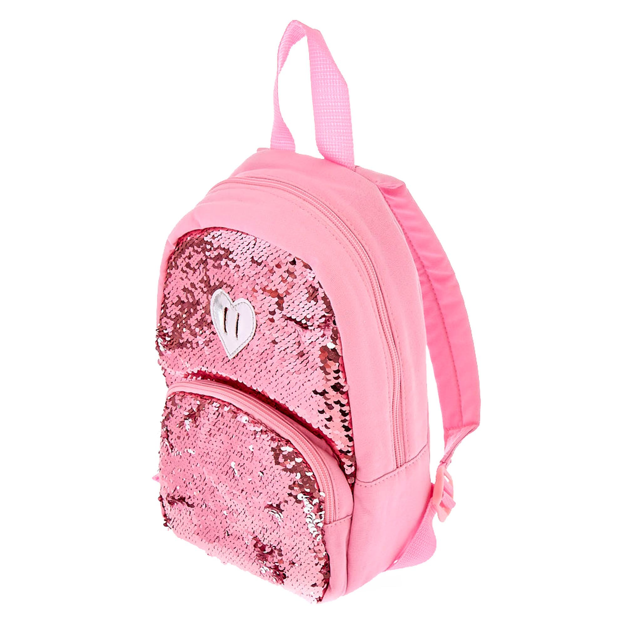 6530df0c6821 Kids Pink to Silver Reversible Sequin Backpack