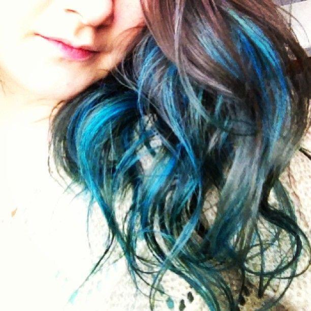 Turquoise Teal Green Blue Hair Hair Ideas Pinterest Teal