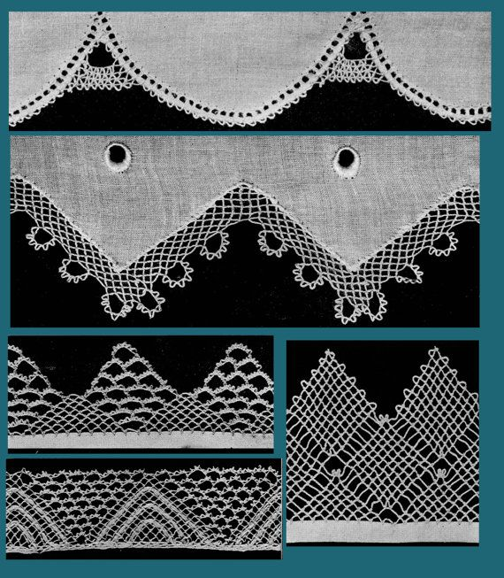 Priscilla Armenian Lace c.1923 Rare Needle Lace by ivarose