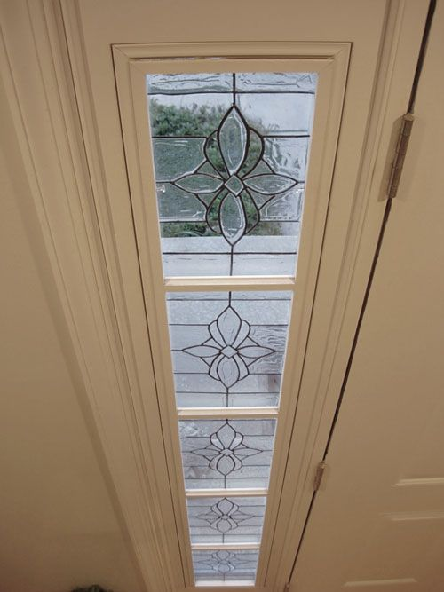 Beautiful diy sidelight and transom for front door done with beautiful diy sidelight and transom for front door done with gallery glass faux leaded glass planetlyrics Image collections