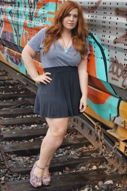 Plus Size Mini Skirt | My Style | Pinterest